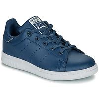 Παπούτσια Αγόρι Χαμηλά Sneakers adidas Originals STAN SMITH C Μπλέ