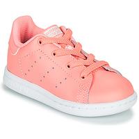 Παπούτσια Κορίτσι Χαμηλά Sneakers adidas Originals STAN SMITH EL I Ροζ