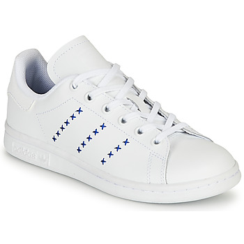 Xαμηλά Sneakers adidas STAN SMITH J ΣΤΕΛΕΧΟΣ: Δέρμα και συνθετικό & ΕΠΕΝΔΥΣΗ: Ύφασμα & ΕΣ. ΣΟΛΑ: Ύφασμα & ΕΞ. ΣΟΛΑ: Καουτσούκ