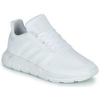 Παπούτσια Αγόρι Χαμηλά Sneakers adidas Originals SWIFT RUN C Άσπρο