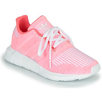 Παπούτσια Κορίτσι Χαμηλά Sneakers adidas Originals SWIFT RUN J Ροζ