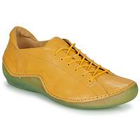 Παπούτσια Γυναίκα Χαμηλά Sneakers Think KAPSL Yellow / Green
