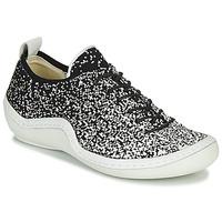 Παπούτσια Γυναίκα Χαμηλά Sneakers Think KAPSL Black / Άσπρο