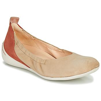 Παπούτσια Γυναίκα Μπαλαρίνες Think CUGAL Beige / Red