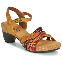 Παπούτσια Γυναίκα Σανδάλια / Πέδιλα Think TRAUDI Yellow / Red