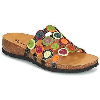 Παπούτσια Γυναίκα Σανδάλια / Πέδιλα Think JULIA Yellow / Red / Green