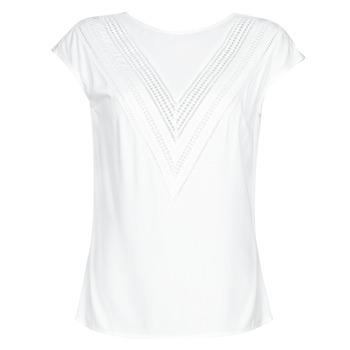 Υφασμάτινα Γυναίκα Μπλούζες Guess SS MALIKA TOP Άσπρο
