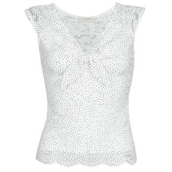 Υφασμάτινα Γυναίκα Μπλούζες Guess GIUNONE TOP Άσπρο