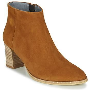 Παπούτσια Γυναίκα Μποτίνια Myma LASTICO Camel