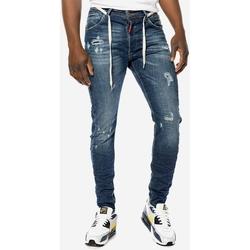 Υφασμάτινα Άνδρας Jeans Brokers ΑΝΔΡΙΚΟ ΠΑΝΤΕΛΟΝΙ JEAN  ARC FIT Μπλε