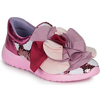 Παπούτσια Γυναίκα Χαμηλά Sneakers Irregular Choice RAGTIME RUFFLES Ροζ