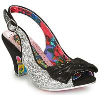 Παπούτσια Γυναίκα Γόβες Irregular Choice HIYA SYNTH Argenté / Black