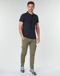 Υφασμάτινα Άνδρας παντελόνι παραλλαγής Le Temps des Cerises ALBAN Kaki