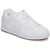 Παπούτσια Άνδρας Χαμηλά Sneakers DC Shoes NET Άσπρο