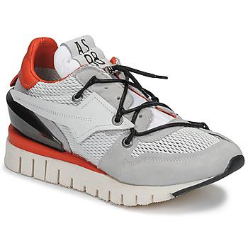 Παπούτσια Γυναίκα Χαμηλά Sneakers Airstep / A.S.98 DENASTAR Άσπρο / Red
