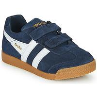 Παπούτσια Παιδί Χαμηλά Sneakers Gola HARRIER VELCRO Marine