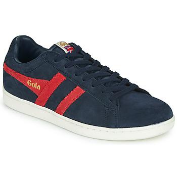 Παπούτσια Άνδρας Χαμηλά Sneakers Gola EQUIPE SUEDE Marine / Red