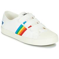 Παπούτσια Γυναίκα Χαμηλά Sneakers Gola COASTER RAINBOW VELCRO Άσπρο