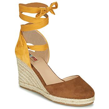 Παπούτσια Γυναίκα Σανδάλια / Πέδιλα MTNG GELLO Brown / Moutarde