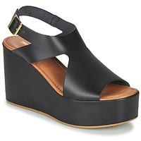Παπούτσια Γυναίκα Σανδάλια / Πέδιλα Sweet Lemon IJOX Black