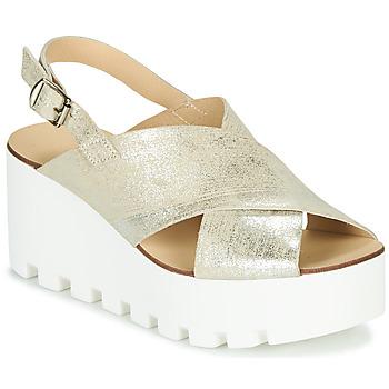 Παπούτσια Γυναίκα Σανδάλια / Πέδιλα Sweet Lemon SUAX Gold