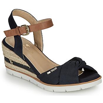 Παπούτσια Γυναίκα Σανδάλια / Πέδιλα Tom Tailor 8090403 Marine