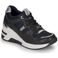 Παπούτσια Γυναίκα Χαμηλά Sneakers Tom Tailor 8091512 Marine / Black