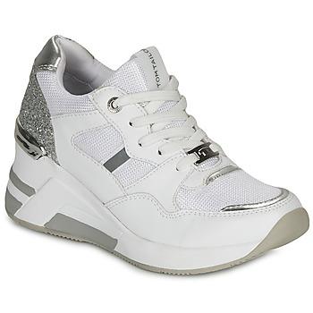 Παπούτσια Γυναίκα Χαμηλά Sneakers Tom Tailor  Άσπρο / Silver