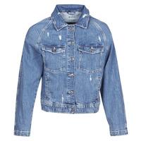 Υφασμάτινα Γυναίκα Τζιν Μπουφάν/Jacket  Esprit ESPRILA Μπλέ / Medium