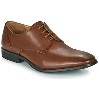Παπούτσια Άνδρας Derby Clarks GILMAN PLAIN Brown