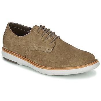 Παπούτσια Άνδρας Derby Clarks DRAPER LACE Beige