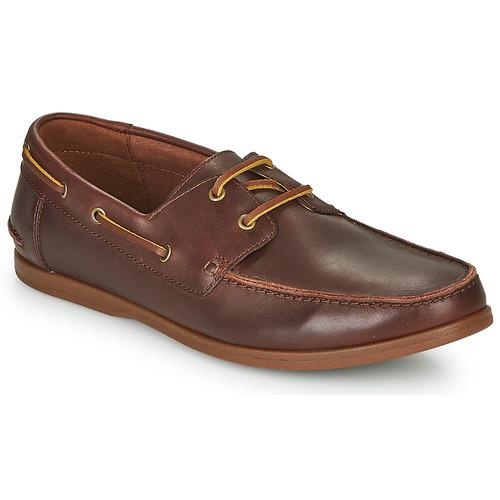 Παπούτσια Άνδρας Derby Clarks PICKWELL SAIL Brown