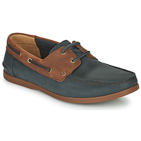 Παπούτσια Άνδρας Derby Clarks PICKWELL SAIL Marine / Brown
