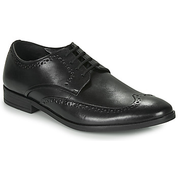 Παπούτσια Άνδρας Derby Clarks STANFORD LIMIT Black