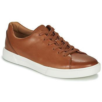 Παπούτσια Άνδρας Derby Clarks UN COSTA LACE Tan