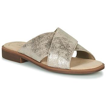 Παπούτσια Γυναίκα Τσόκαρα Clarks DECLAN IVY Silver