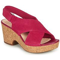 Παπούτσια Γυναίκα Σανδάλια / Πέδιλα Clarks MARITSA LARA Ροζ