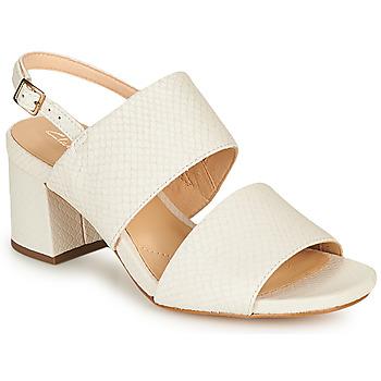 Παπούτσια Γυναίκα Σανδάλια / Πέδιλα Clarks SHEER55 SLING Άσπρο