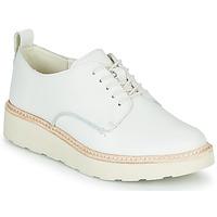 Παπούτσια Γυναίκα Derby Clarks TRACE WALK Άσπρο