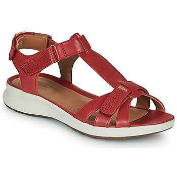 Παπούτσια Γυναίκα Σανδάλια / Πέδιλα Clarks UN ADORN VIBE Red
