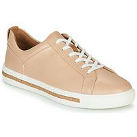 Παπούτσια Γυναίκα Χαμηλά Sneakers Clarks UN MAUI LACE Ροζ
