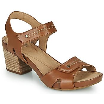 Παπούτσια Γυναίκα Σανδάλια / Πέδιλα Clarks UN PALMA VIBE Camel