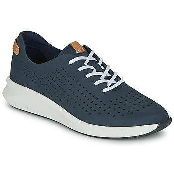 Παπούτσια Γυναίκα Χαμηλά Sneakers Clarks UN RIO TIE Μπλέ