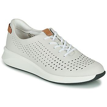 Παπούτσια Γυναίκα Χαμηλά Sneakers Clarks UN RIO TIE Άσπρο