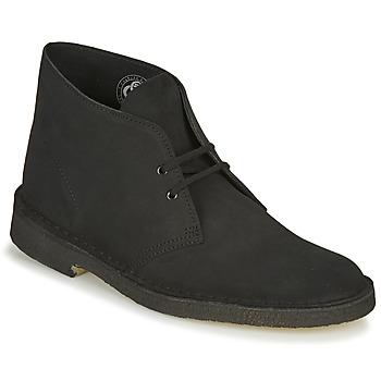 Παπούτσια Άνδρας Μπότες Clarks DESERT BOOT Black