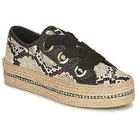Παπούτσια Γυναίκα Εσπαντρίγια Tosca Blu TAHITI Black / Python