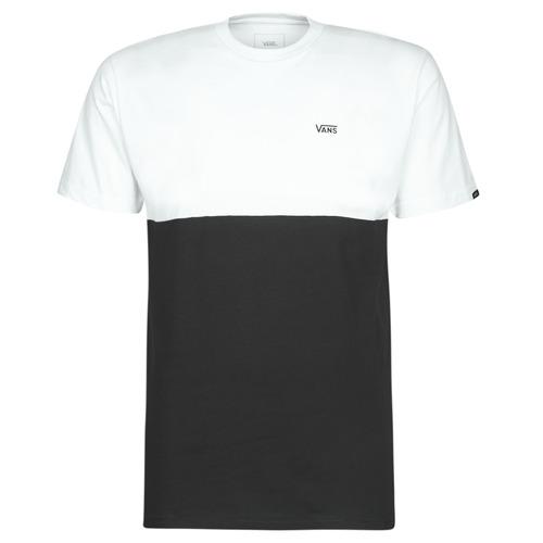 Υφασμάτινα Άνδρας T-shirt με κοντά μανίκια Vans COLORBLOCK TEE Black / Άσπρο