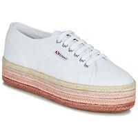 Παπούτσια Γυναίκα Χαμηλά Sneakers Superga 2790-COTCOLOROPEW Άσπρο / Ροζ