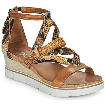 Παπούτσια Γυναίκα Σανδάλια / Πέδιλα Mjus TAPASITA Brown / Pyton