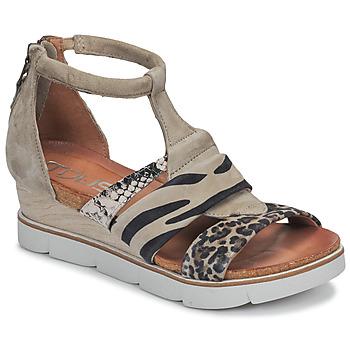 Παπούτσια Γυναίκα Σανδάλια / Πέδιλα Mjus TAPASITA Taupe / Leopard